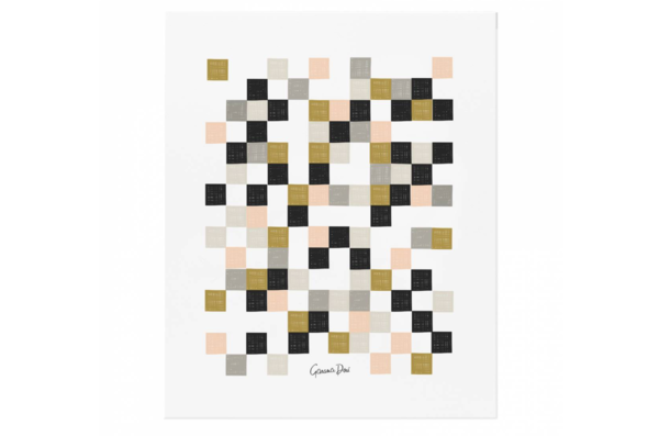 Checkered Art Print by Rifle Paper Co.