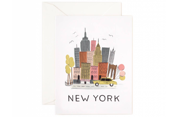 New York Greeting Card by Rifle Paper Co.