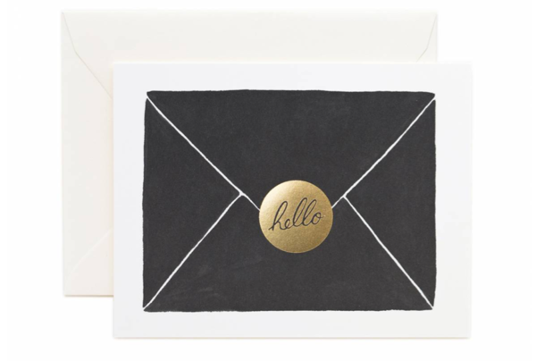 Hello! Greeting Card by Rifle Paper Co.