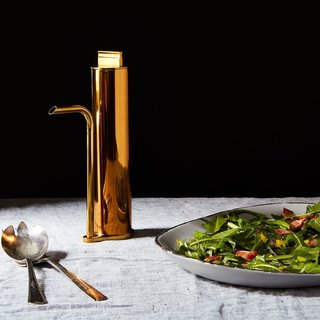Brass Oil Decanter