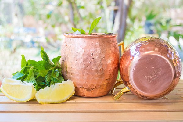 Moscow Mule Copper Mugs by Knooop