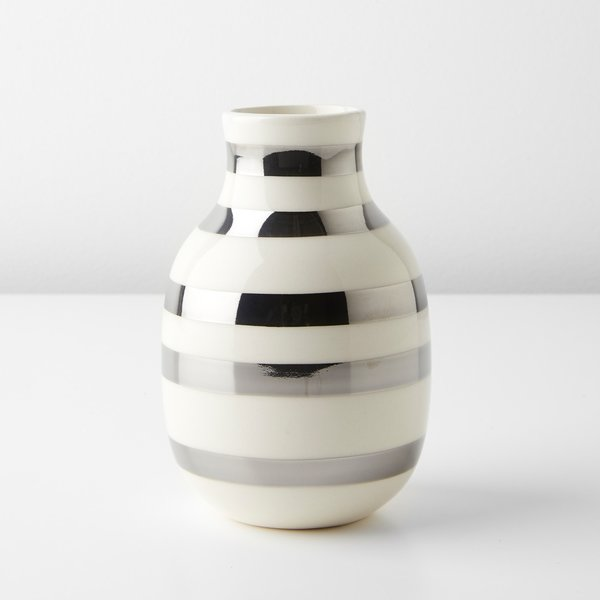 Omaggio Silver Small Vase by Unison
