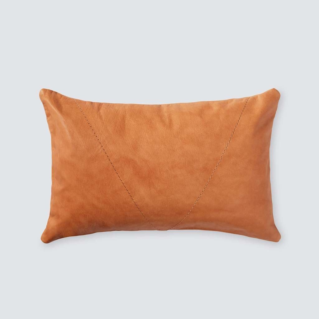 Pampas Leather Lumbar Pillow by The Citizenry - Dwell
