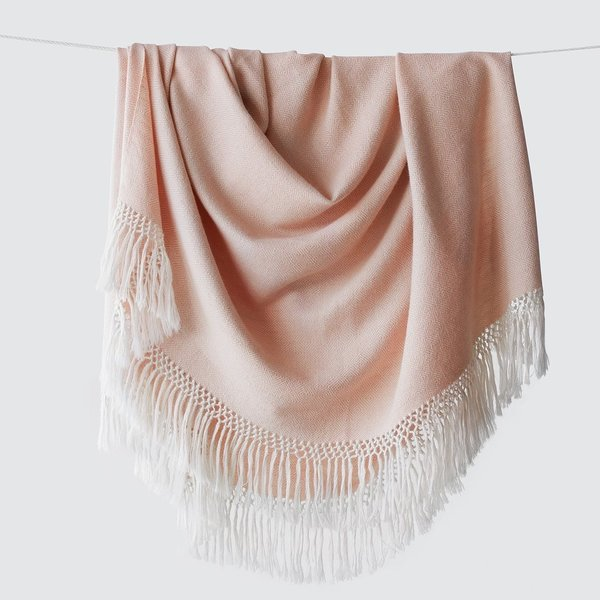 Diamanta Throw – Blush