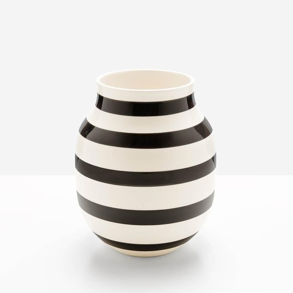 Unison Omaggio Black Medium Vase