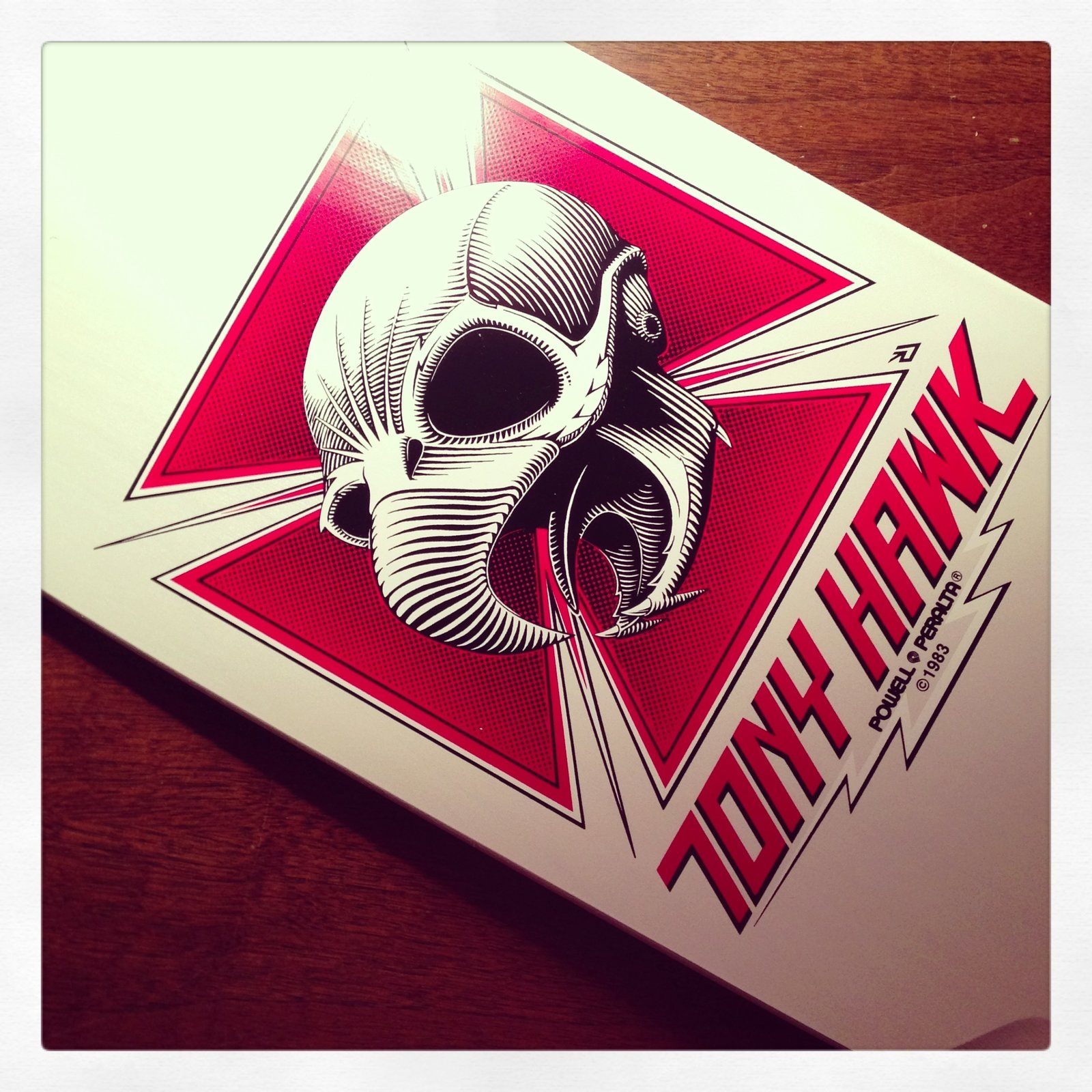 Tony Hawk by Powell Peralta #tonyhawk #skateboard #skate