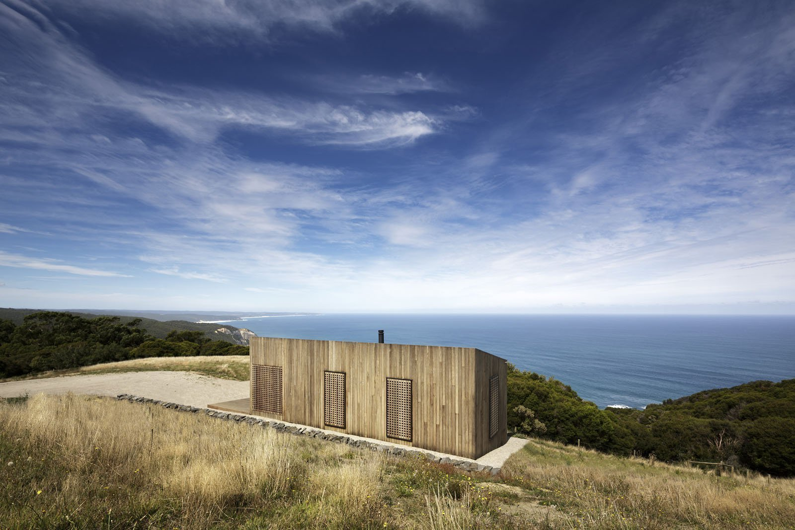 Moonlight Cabin in Western Victoria, by JCB Architects.  Photo: Jeremy Weihrauch, Gollings Studio http://www.jcba.com.au/projects/moonlight-cabin