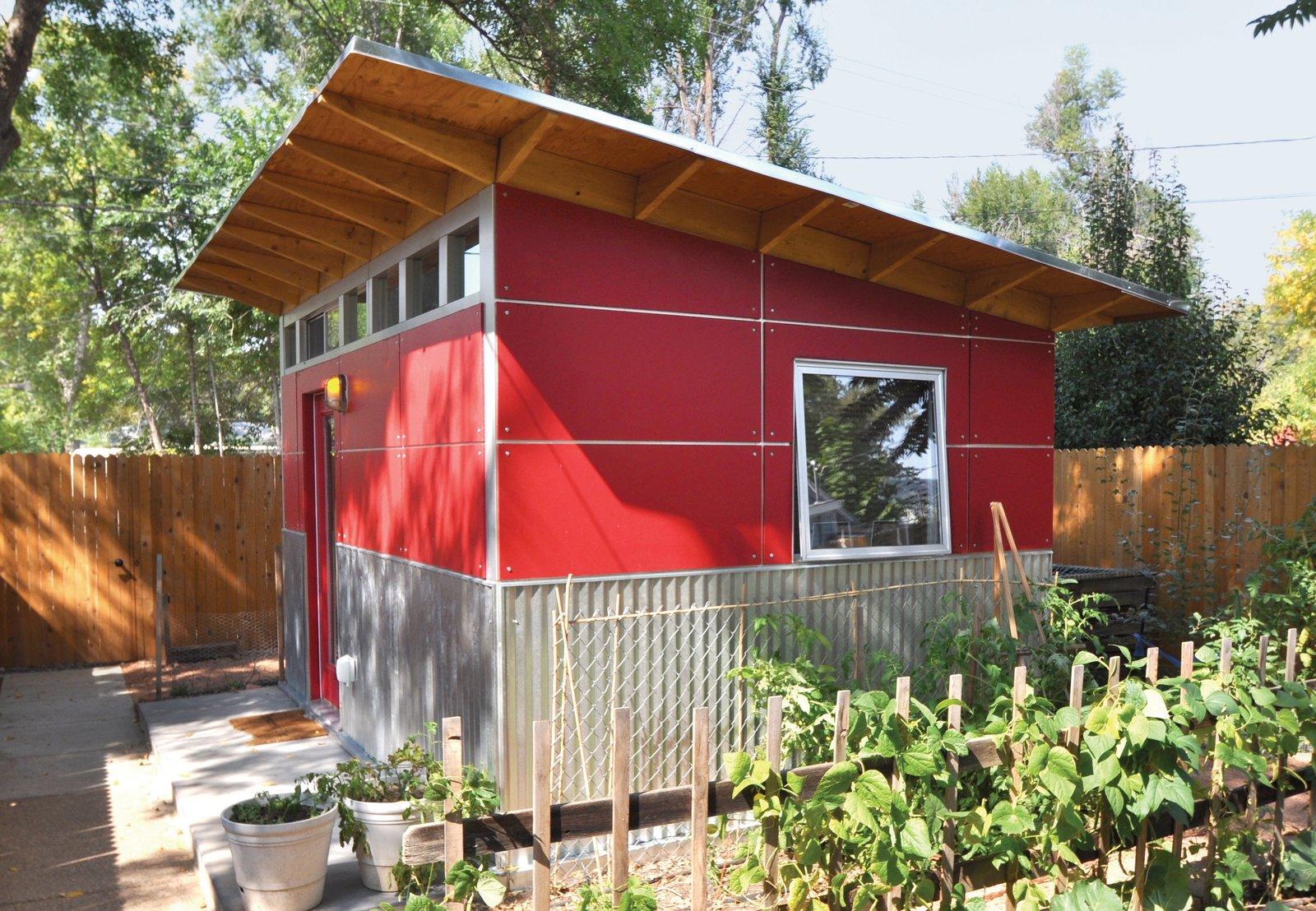 #chickencoop #gardenshed #modernshed