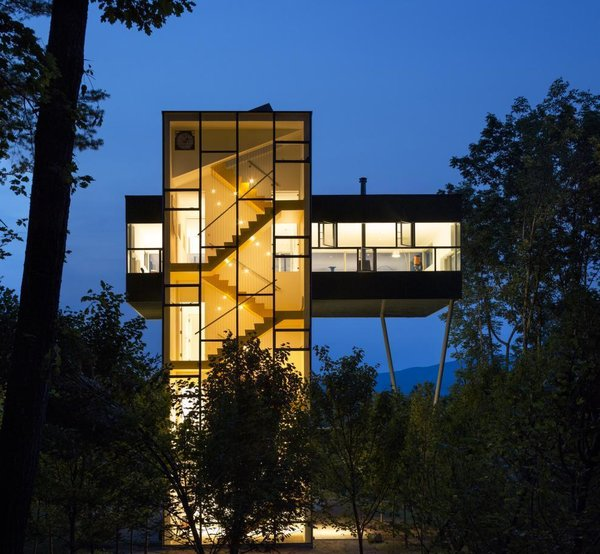 Photo  of Tower House modern home