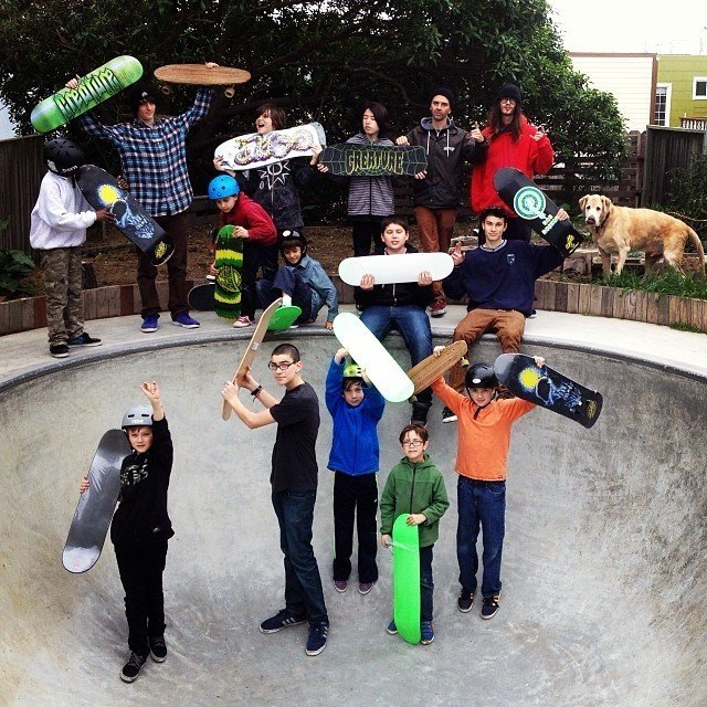 People and Places by Iris Skateboards