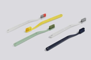 Modern toothbrushes are something we can get behind. The Tann collection was designed by Andreas Engesvik for Jordan.