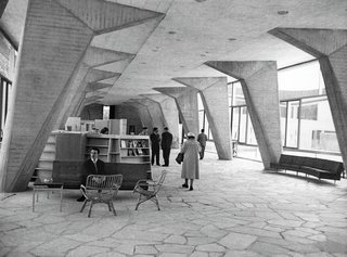 From Bauhaus Student to Brutalist Supreme: Highlights by Marcel Breuer - Photo 5 of 9 - Working with structural engineer Pier Luigi Nervi and French architect Bernard Zehrfuss, Breuer designed the UNESCO Headquarters in Paris, perhaps the most important commission of his career. (1952-1958) Photo courtesy of Fonds Zehrfuss. Académie d'architecture/Cité del'architecture et du patrimoine/Archives d'architecture du XXe.