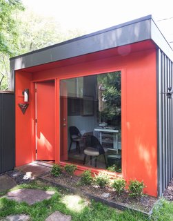 Rebooting One Kansas House at a Time - Photo 1 of 10 - Fein designed and built a 120-square-foot structure on his Kansas property to serve as a studio space for him and one other employee when the firm was starting out.