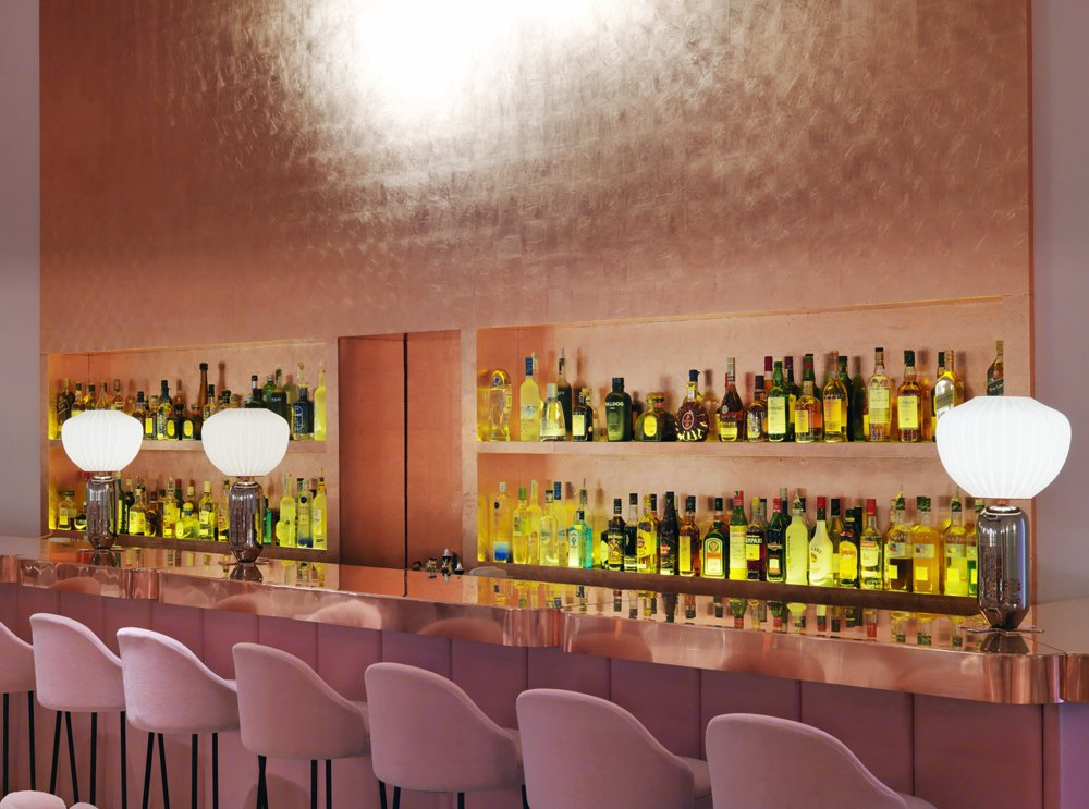 Sketch restaurant in London by India Mahdavi. Courtesy of Sketch. Hospitality Favorites by Allie Weiss