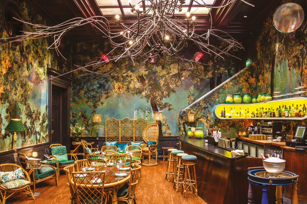 Sketch restaurant in London. Courtesy of Sketch.  Hospitality Favorites by Allie Weiss