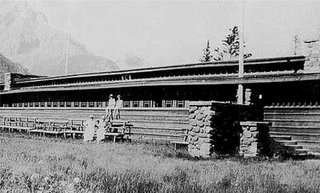 Demolished Frank Lloyd Wright Structure in Banff May Be Rebuilt - Photo 3 of 4 - The pavilion was designed in 1911 and constructed in 1914.