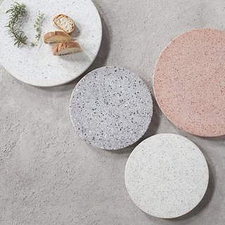 11 Examples of How to Incorporate Traditional Building Materials Into Your Modern Home - Photo 9 of 12 - Terrazzo platters from Serax feature an innovative use of the building material.