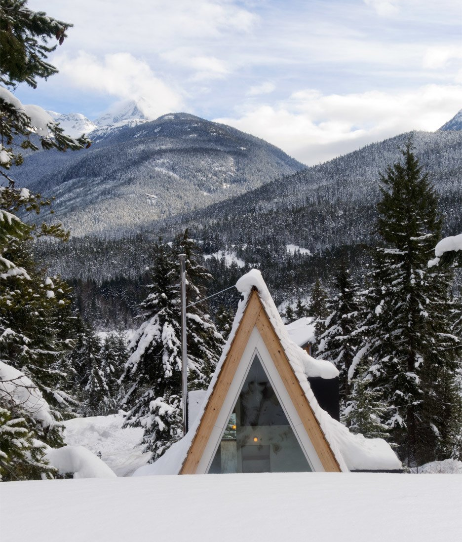A-frame cabin in Whistler, Vancouver; Architects: Scott and Scott