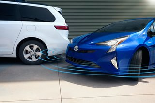 Hitting the Road With the Newest Hybrid Technologies - Photo 6 of 8 - For those who find it stressful to park—especially when living in congested urban areas—the available Intelligent Clearance Sonar (ICS)* carefully scans for surfaces and objects. When it senses a possible collision, it will automatically reduce the engine, apply the brakes, and emit an alarm. An Intelligent Parking Assist (IPA)** option is also available. </p><p>*Intelligent Clearance Sonar (ICS) is designed to assist drivers in avoiding potential collisions at speeds of 9 mph or less. Certain vehicle and environmental factors, including an object's shape and composition, may affect the ability of the ICS to detect it. Always look around outside the vehicle and use mirrors to confirm clearance. See the Owner's Manual for details.  **The Intelligent Parking Assist system requires driver brake control. Always look around outside the vehicle and use mirrors to confirm clearance.