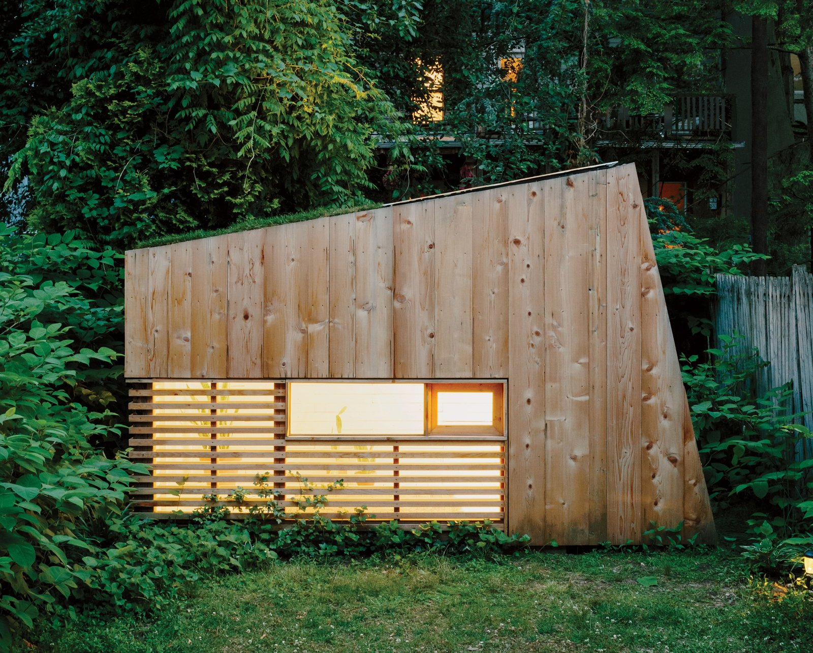 Photo 1 of 6 in An Architect Builds His Own Backyard Oasis From Salvaged Materials