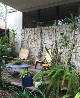 Iconic Perspectives: Richard Neutra's VDL Studio & Residences - Photo 8 of 10 - Like many modernist houses in Southern California, the courtyard was one of the most cherished locations and helped bring together both sections of the house with a pocket garden. Even after being cut 15 years ago, ivy plants continue to spread and shield the house from intense sun exposure.