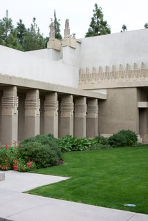 Iconic Perspectives: Frank Lloyd Wright's Hollyhock House - Photo 13 of 13 - The Hollyhock House is open to the public through self-guided tours or personal docent-led tours. They also open the lawn to community events including art workshops, cultural get-togethers, and outdoor movie nights.