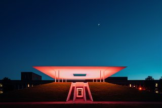 Stopping by James Turrell's Twilight Epiphany at Sunset - Photo 1 of 2 -