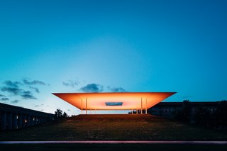 Stopping by James Turrell's Twilight Epiphany at Sunset - Photo 2 of 2 -