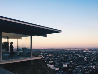An Iconic Case Study House That's Perched High Above LA's Sunset Strip - Photo 1 of 1 -