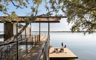 Escaping to This Lakeside Retreat Would Be Like Living in a Tree House - Photo 1 of 1 -