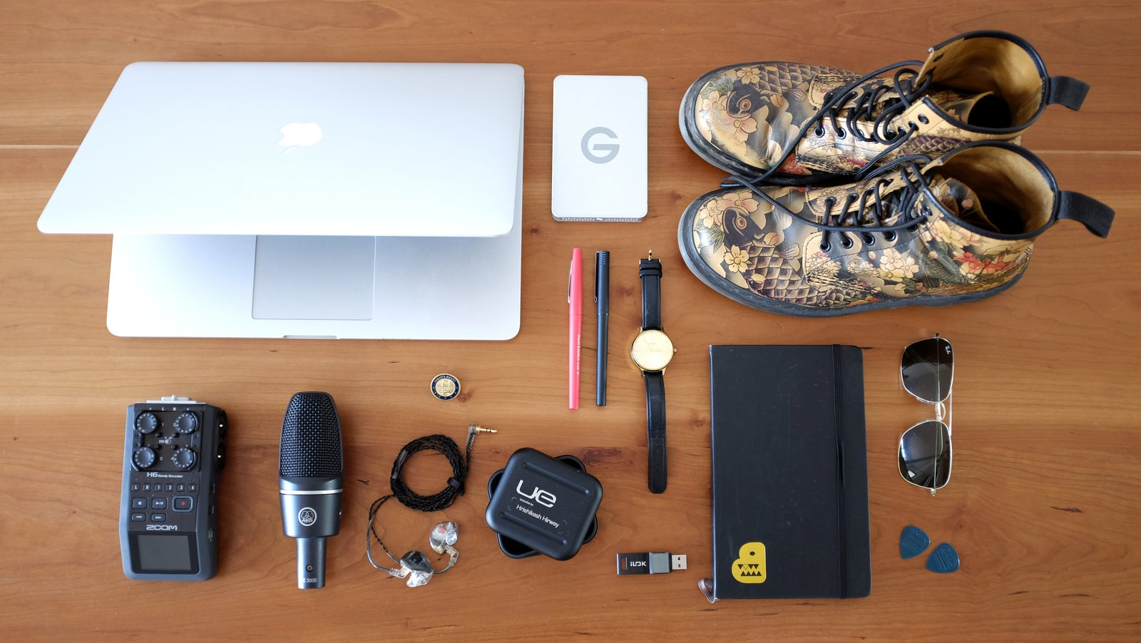 Photo 1 of 3 in The Everyday Carry of a Musician and Podcast Host: Hrishikesh Hirway