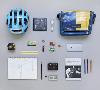 "The Everyday Carry of an Architect: Jon Handley of Pulltab - Photo 2 of 3 - Click into this photo to see each of Jon's<span> <a href=""/discover/everydaycarry"">#everydaycarry</a></span> items annotated, and feel free to add your own thoughts."