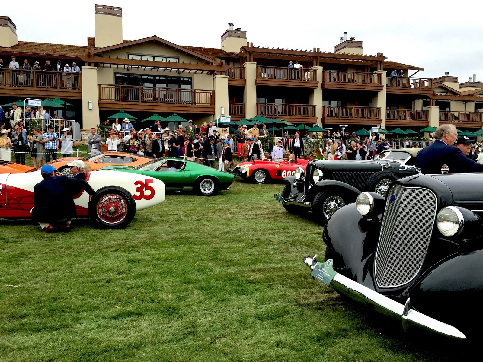 Photo 1 of 10 in A Day at the Pebble Beach Concours d'Elegance Car Show
