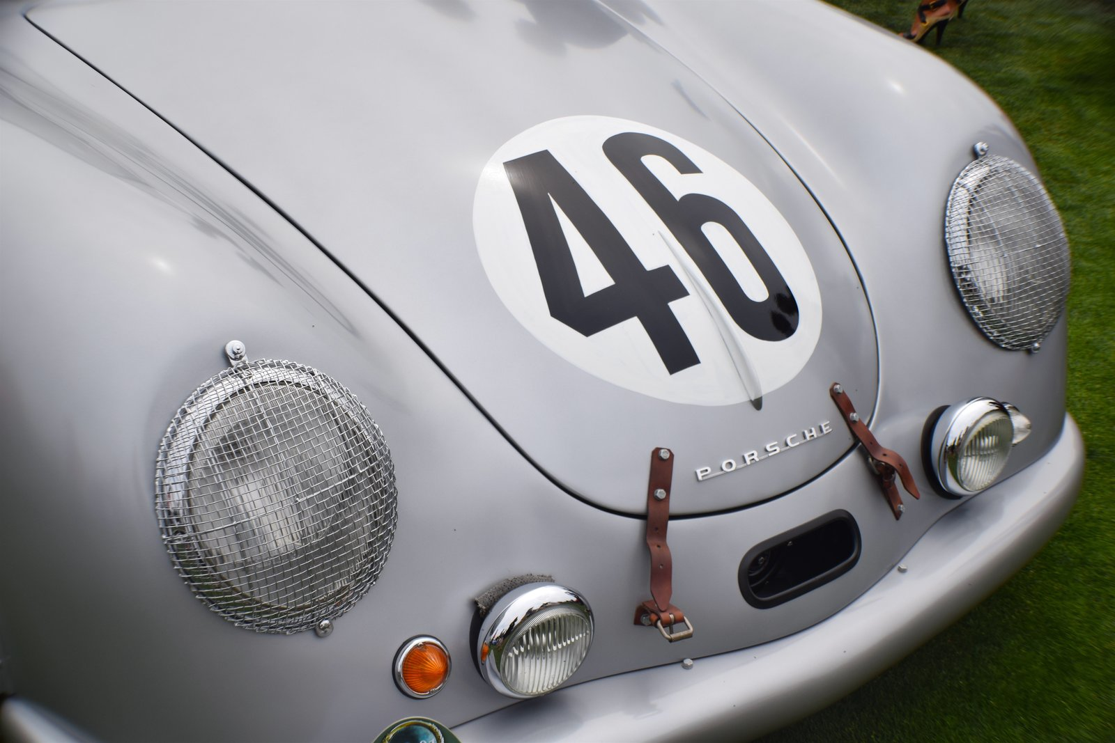 Coming from Portland, Oregon, this Porsche 356 SL Coupe was one of only four cars that were prepared for the 24 Hours of le Mans race in 1951. It was the only one that made it to the race without crashing. Though it finished 20th overall, it won first in its class (1100 cc), which became Porsche's first win in an international race and marked the beginning of their extended connection to international endurance racing.  Photo 4 of 10 in A Day at the Pebble Beach Concours d'Elegance Car Show