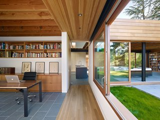 Dwell Home Tours Lands in Silicon Valley - Photo 12 of 15 - While you're there, you'll learn about the residence's insulated glazing, radiant floor heating, passive cooling, and usage of resilient natural materials. Additionally, the house can be turned on and off by zone while all the systems can be controlled remotely.
