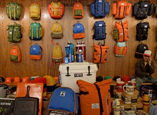 A Weekend in Portland: Part I - Photo 5 of 11 - Each wall in Poler is lined with colorful outdoor gear and accessories. Every corner of the store brings you closer to your future camping adventure.