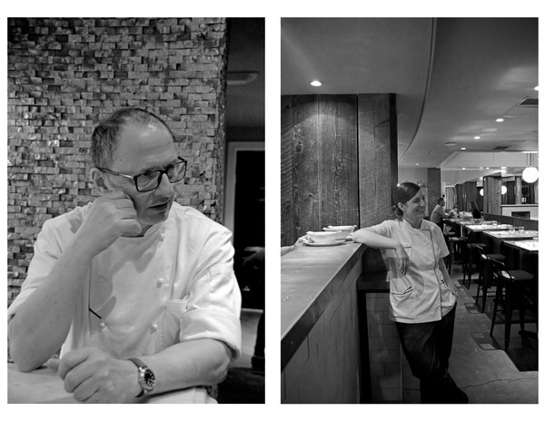 Owners David and Mellisa spent time with us telling the story of how their personal and professional lives have merged in a serendipitous way. David is the head Chef while Mellisa is Executive Pastry Chef. They both work closely to create a welcoming, casual, farm-to-table, experience.