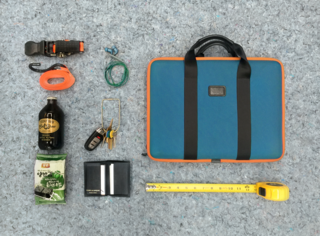 """The Everyday Carry of a Creative Duo: Early Work - Photo 2 of 4 - What would be the items in your Everyday Carry? Let us know by annotating this image!<span> <a href=""""/discover/edc"""">#edc</a></span><span> <a href=""""/discover/everydaycarry"""">#everydaycarry</a></span>"""