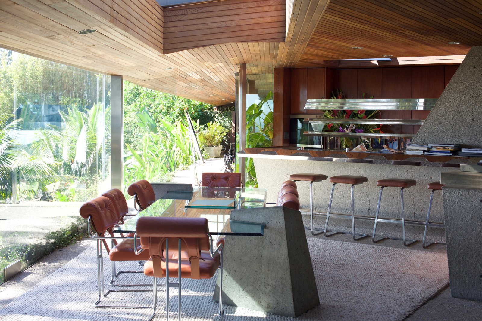 Photo 1 of 9 in Iconic Perspectives: John Lautner's Sheats-Goldstein Residence
