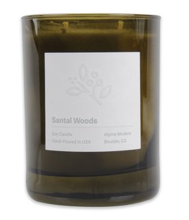 An Expert's Guide to a Bavarian-Coloradan Holiday - Photo 4 of 11 - Santal Woods Candle for $30 from Alpine Modern