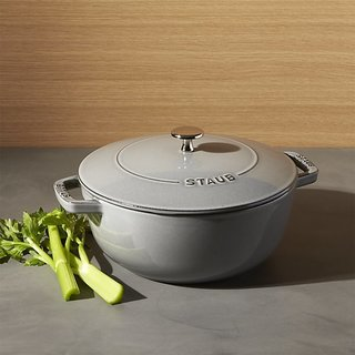 16 Modern Entertaining Tools to Use and Give This Holiday Season - Photo 3 of 17 - Staub 3.75-Qt. Essential French Oven in Graphite Gray, $149.99