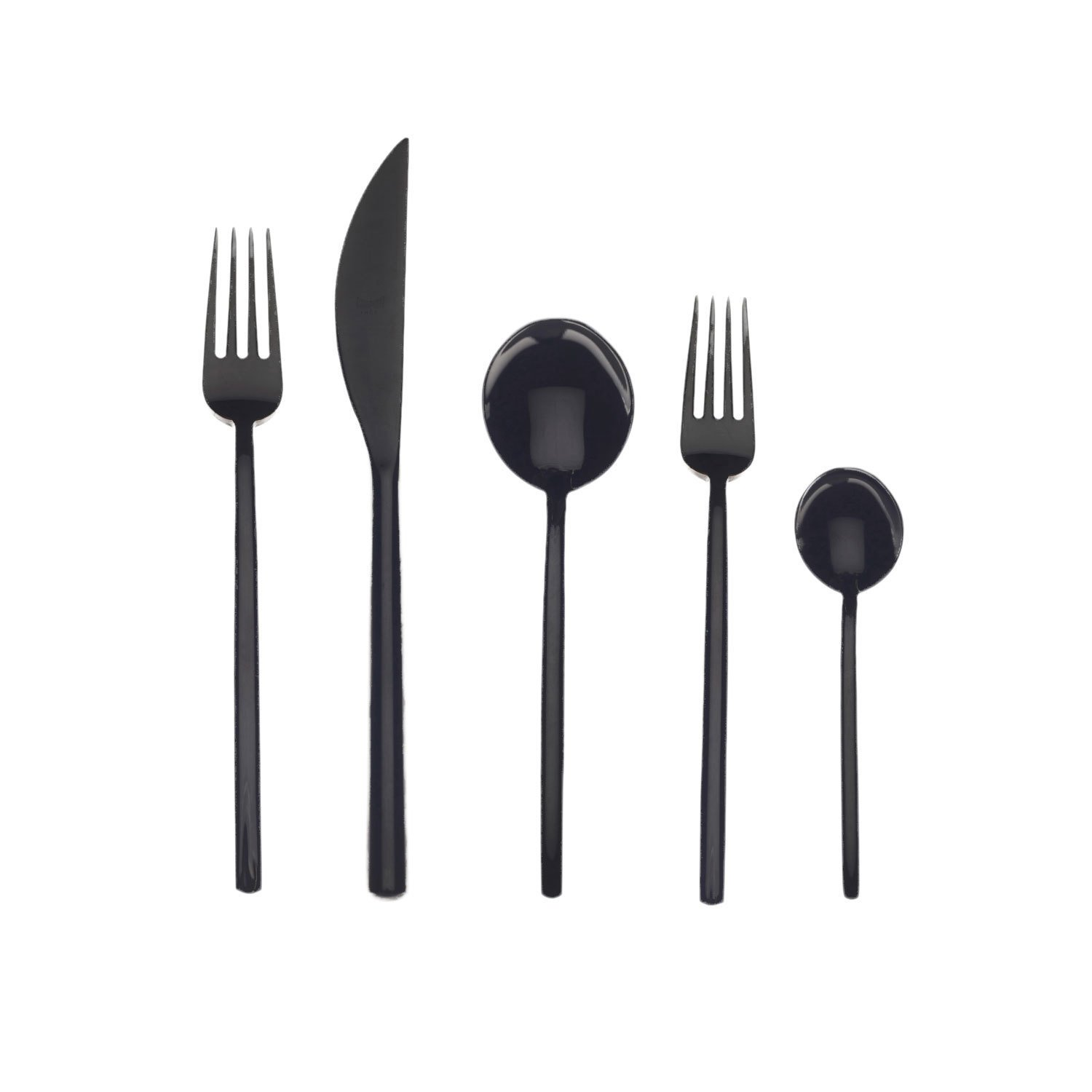 "Mepra Italian ""Due"" 5-Piece Flatware Set, $148 for a set of 5"
