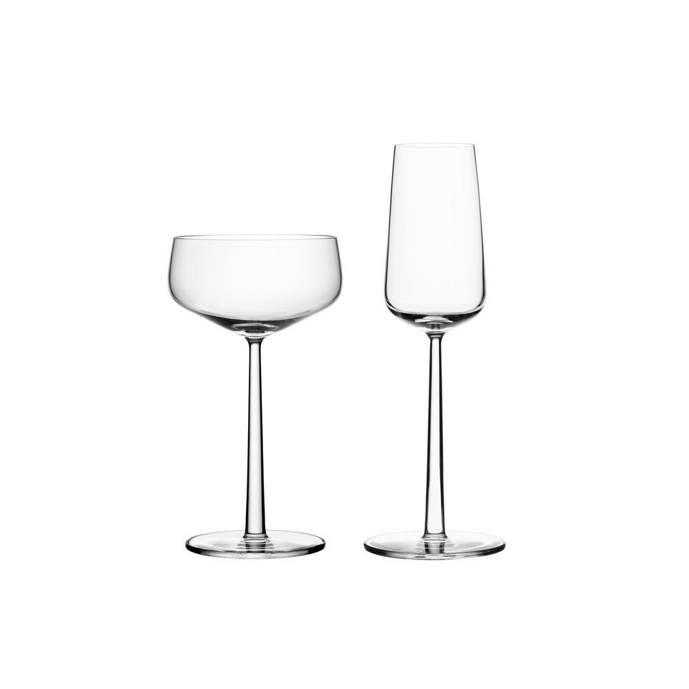 Iittala Essence Champagne Glasses, $40 for a set of 2