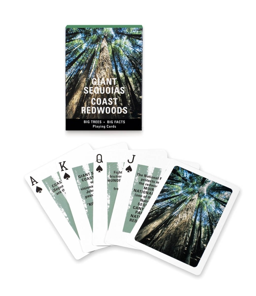 Giant Redwoods Playing Cards from the Golden Gate National Parks Conservancy, $5.95 The 5 Outdoorsy Gifts That Every Modern Camper Needs - Photo 4 of 7