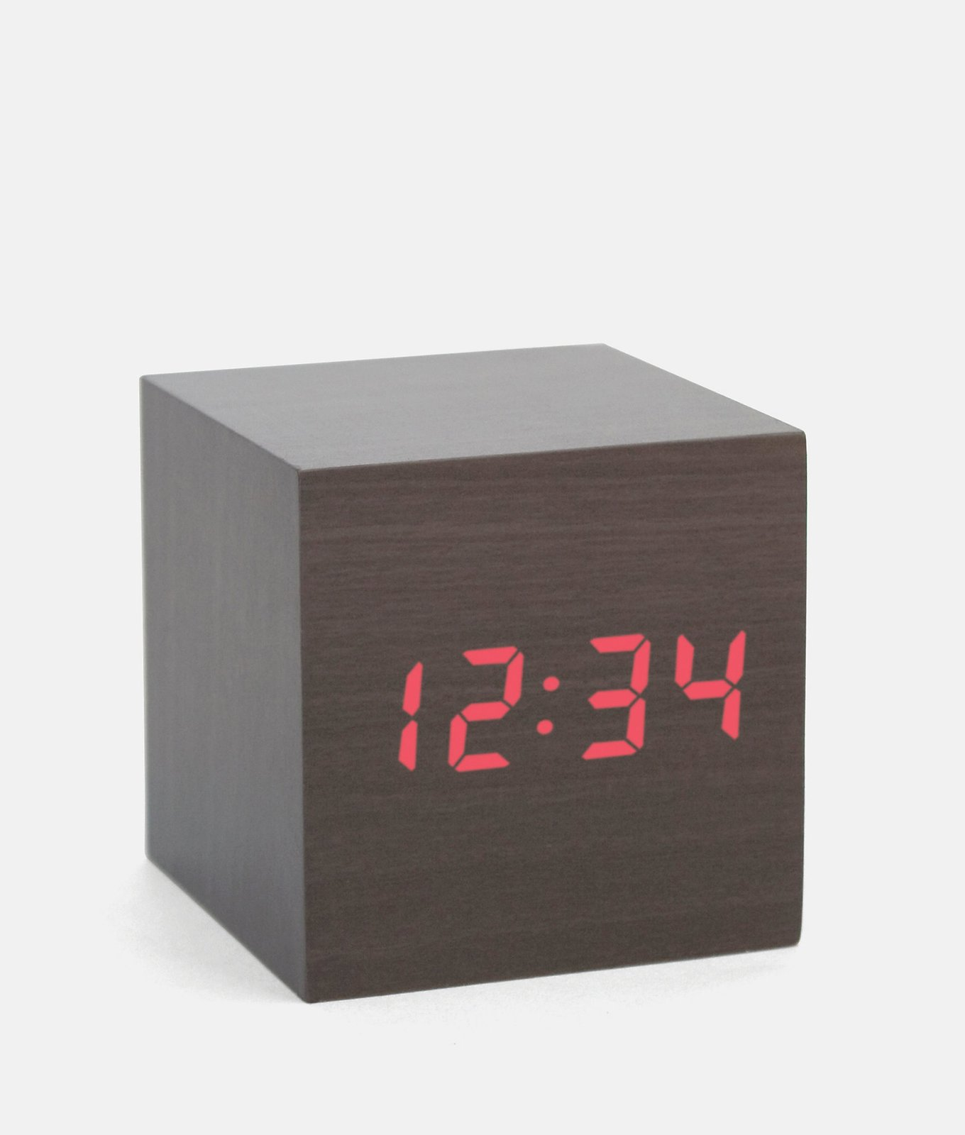 A minimalist LED clock activated by the clap of your hands. Jack Spade Cube Alarm Clock, $30