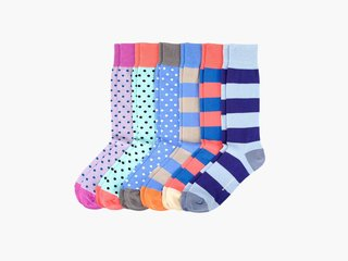 Stocking Stuffers That Will Please the Modernists in Your Life - Photo 6 of 11 - Probably one of the few designs that would make anyone happy to see socks in their Christmas stocking. Nice Laundry Dreamer VI socks, $49