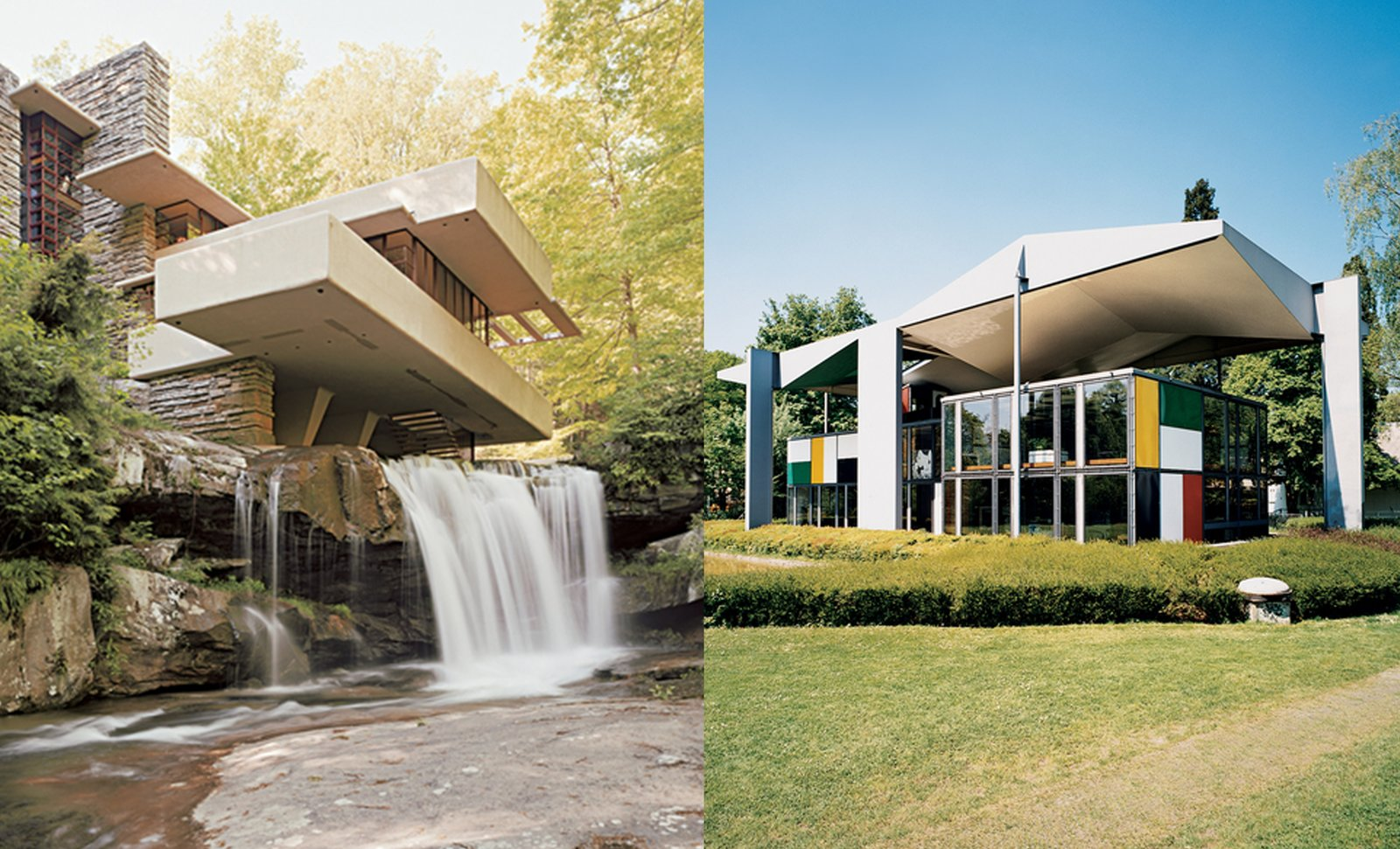 Photo 1 of 1 in Discuss: Who Would Win in a Fight—Frank Lloyd Wright vs. Le Corbusier?