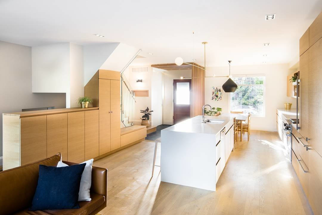 With an updated layout, the main living areas are connected into one welcoming space—while they enjoy an abundance of natural light.