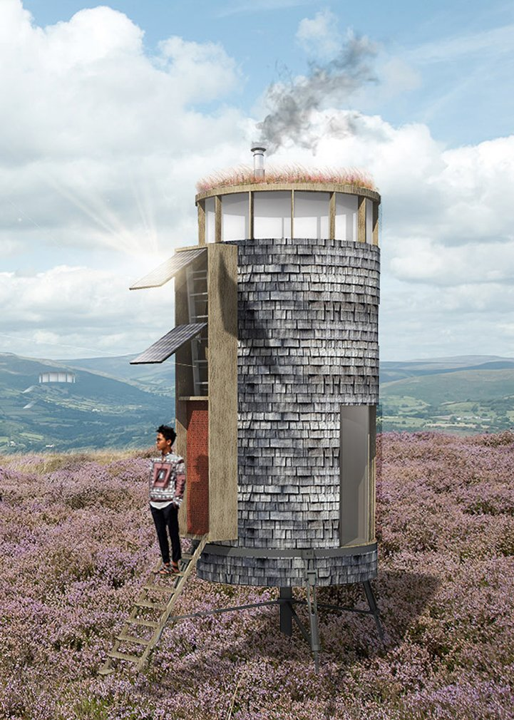 Barton Willmore's Little Dragon  Photo 3 of 9 in A Design Competition Unveils a Pop-Up Hotel Concept That's Soon to Hit the Welsh Countryside