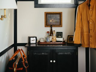 Modern Equestrians Will Find Themselves at Home at This New Americana Hotel - Photo 4 of 7 - In each room, you'll also find a custom sideboard that stocks local drinks and snacks. The equestrian-inspired theme holds strong in each of the rooms.